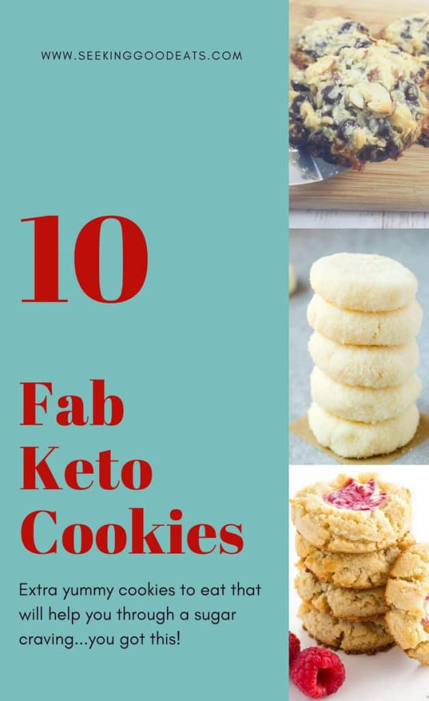 Low carb keto versions of your favorite cookies! Perfect for a healthy snack or dessert.