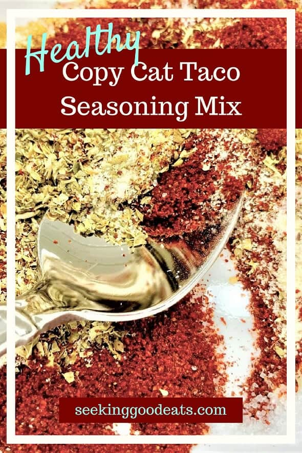 Healthy Copy Cat Taco Seasoning Mix