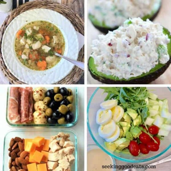 Easy Low Carb and Keto Lunch Ideas