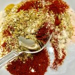 Super easy copy cat taco seasoning mixture that tastes as good as the real thing, but is healthier.