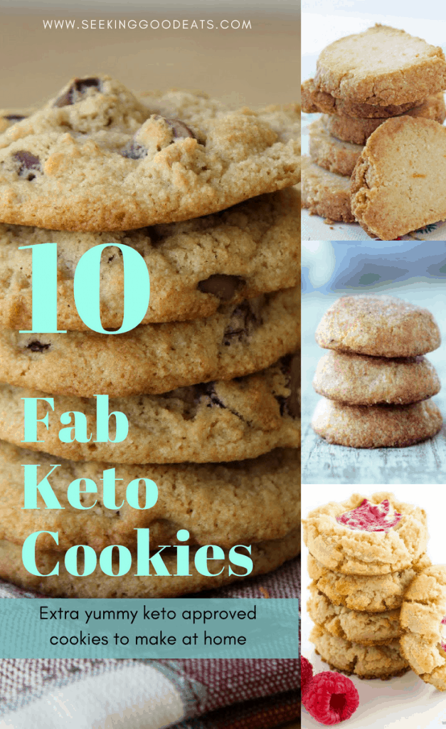 Delicious keto and low carb cookies that will help curb your sugar cravings!