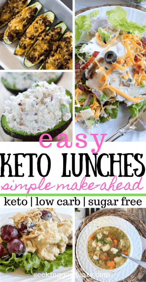 Low Carb and Keto Lunch Ideas (Easy and Make-Ahead)
