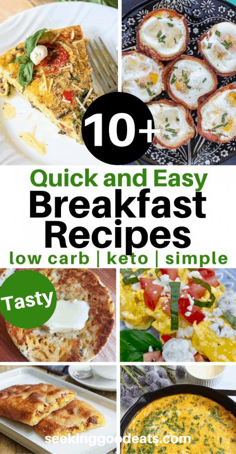 Keto Breakfast Ideas: 10+Easy Keto Recipes