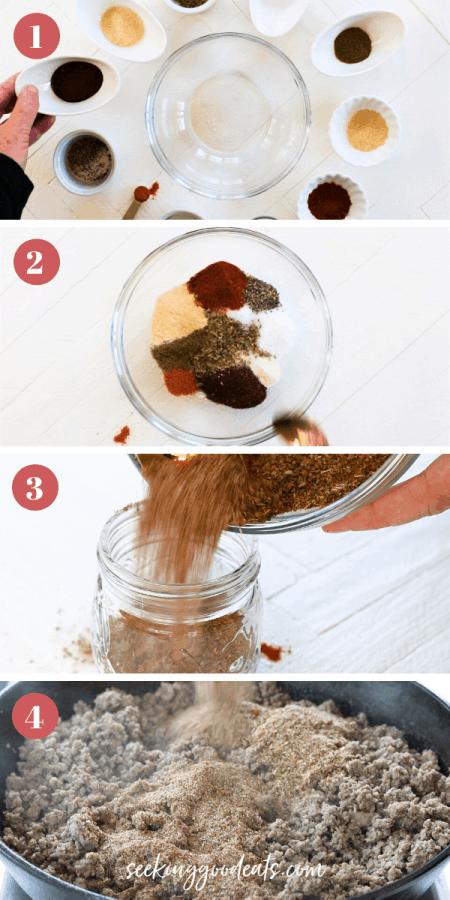 Copycat Taco Seasoning (Healthy Taco Seasoning Mix)