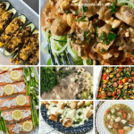 Super easy keto dinner ideas that you will love. All of these low carb recipes are easy to make. Finding healthy recipes that taste good is a challenge, I know. Look no further for easy dinner recipes! Recipes include beef stroganoff, zucchini taco boats, 3 ingredient slow cooker pork roast, sheet pan salmon, chicken casserole, and more. So tasty!! #keto #ketogenic #lowcarb #healthy #lchf #healthyrecipes #easydinners #dinner #seekinggoodeats #pork #beef #chicken #fish