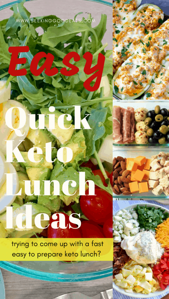 Quick and Easy low carb and keto lunches. More make ahead keto lunches to make your life easier. Delicious ketogenic and low carb meal ideas!