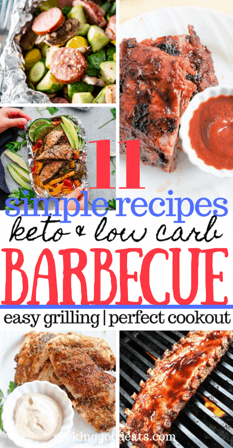 Quick and Easy Low Carb and Keto Grilling Recipes