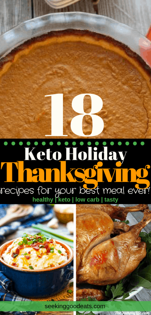 On a keto diet and not sure what to eat this holiday season? Look no further! You'll find all the healthy recipes you need for the best Thanksgiving dinner ever. These low carb and keto recipes will satisfy everyone at your next holiday meal.