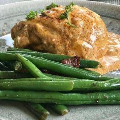 Traditional Hungarian Paprika Chicken (Low Carb and Keto)