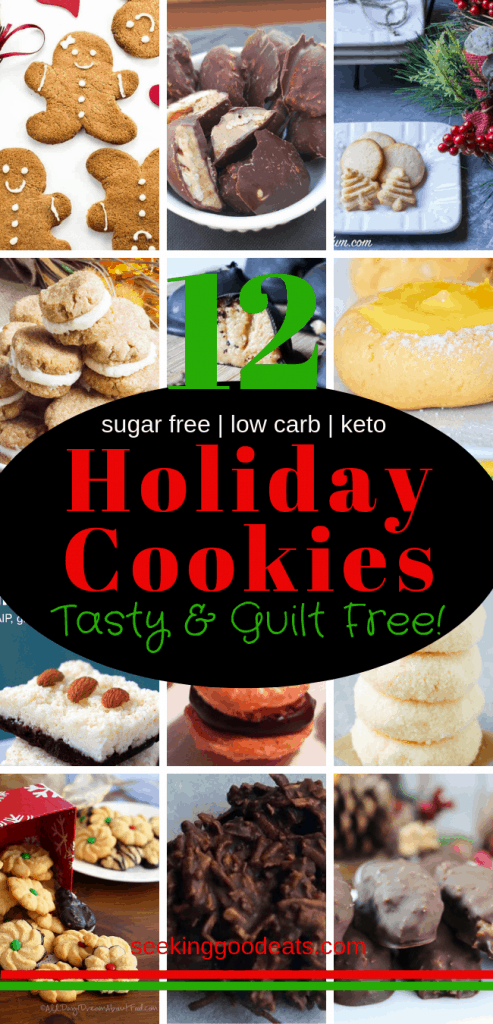 The 12 Days of Christmas Keto Cookies
