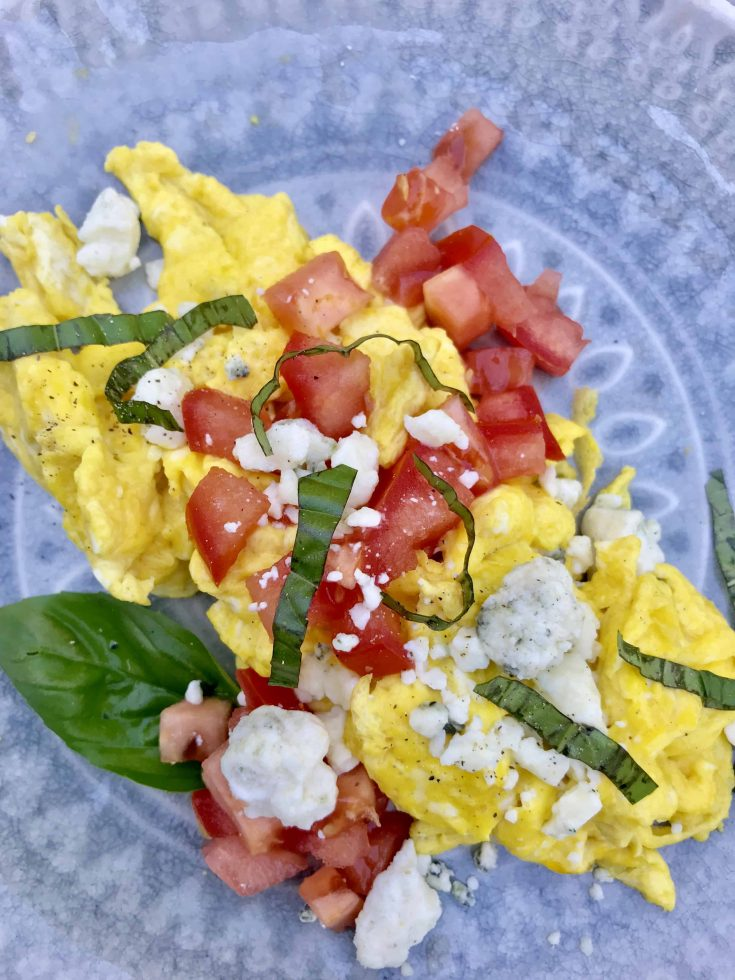 Easy Scrambled Eggs With Herbs and Cheese (Low Carb and Keto), Seeking Good Eats