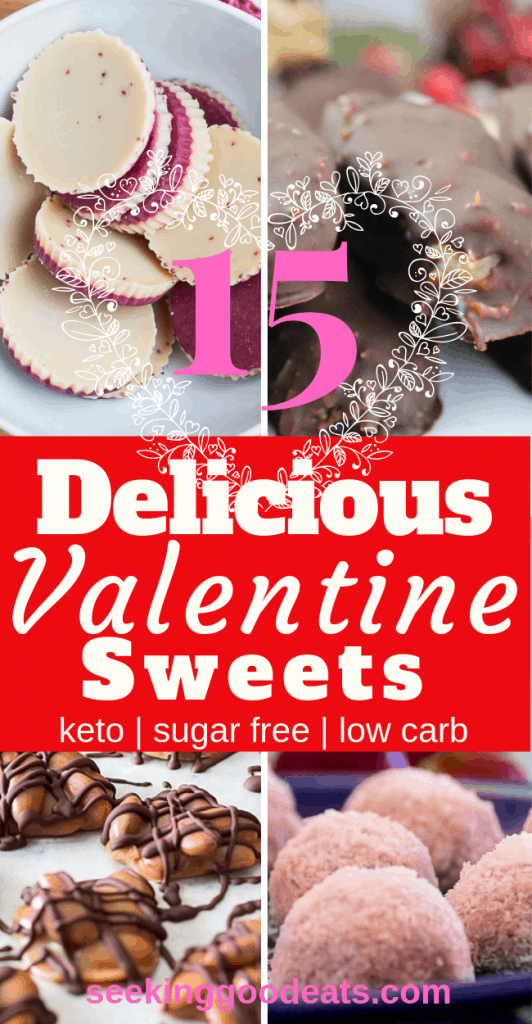 These 15 keto candy recipes are the best low carb and keto sweets! These sugar free candy recipes are tasty keto fat bombs and low carb desserts. You'll never know you're on a diet. Cure those sugar cravings with these delicious ketogenic recipes. #keto #sugarfree #lowcarb #candy