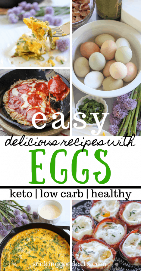 Easy Keto and Low Carb Egg Recipes