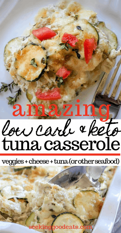 Amazing Low Carb and Keto Tuna Casserole