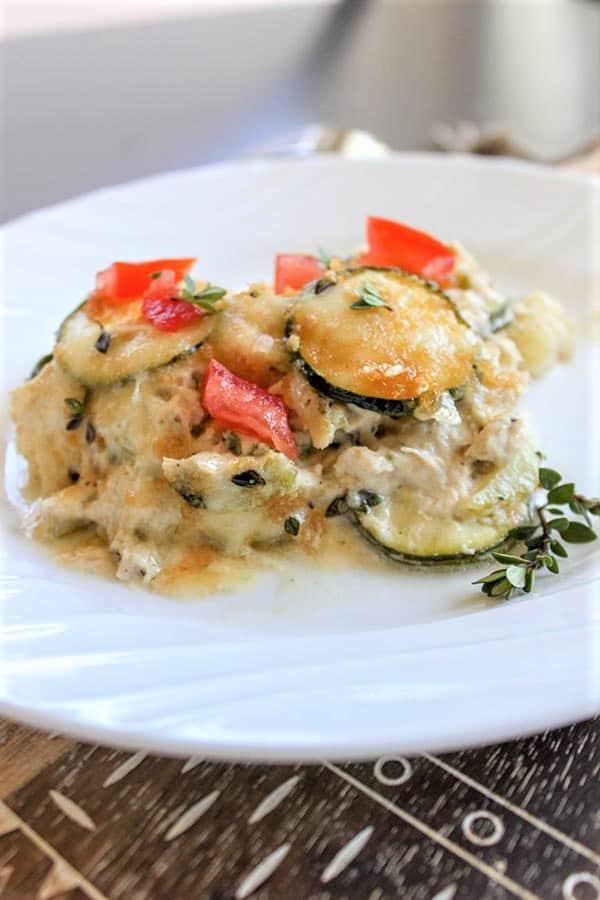 Low Carb Tuna Casserole (Keto Seafood Casserole)