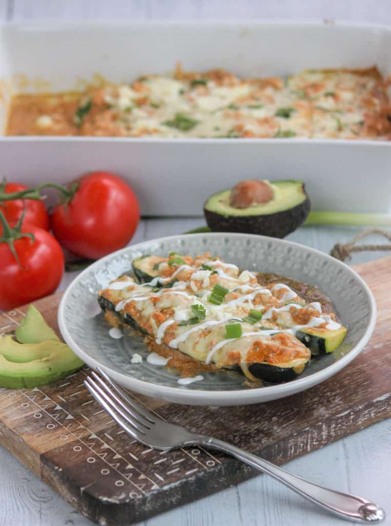 Low Carb Chicken Enchiladas, Seeking Good Eats