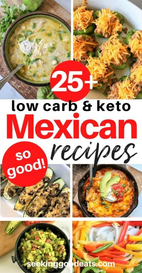 Keto Mexican Recipes (Mexican Menu Ideas)