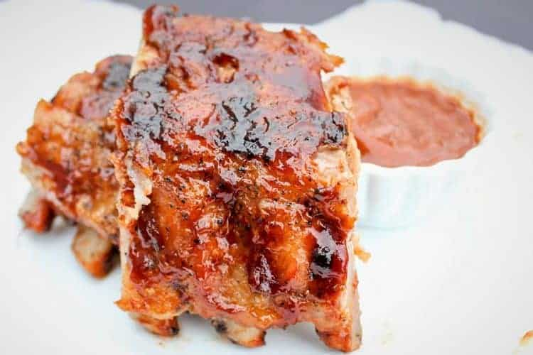 The Best Baby Back Ribs Recipe (Grilled Pork Back Ribs)