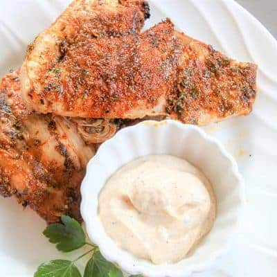 Best Grilled Chicken Recipe (Dry Rub Grilled Chicken With White Barbecue Sauce)