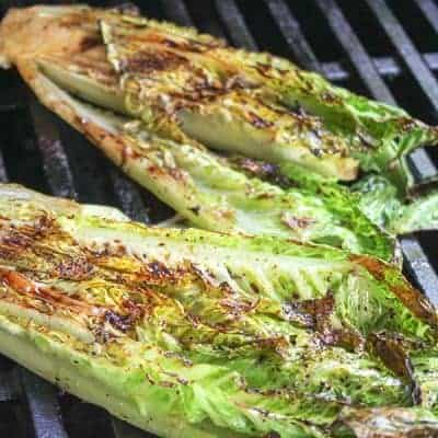 Grilled Romaine Hearts (Easy Grilling Recipe)