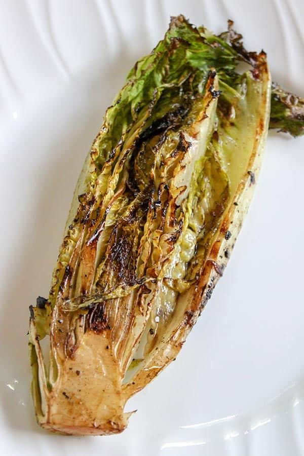 Grilled Romaine Hearts, Seeking Good Eats