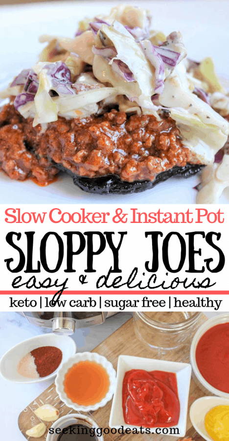 Slow Cooker Sloppy Joes (Low Carb Sloppy Joes)