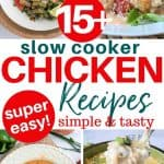 Easy Keto Low Carb Slow Cooker Chicken Recipes