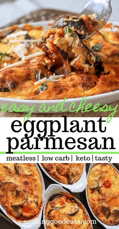 Low Carb Eggplant Parmesan (Eggplant Gratin)