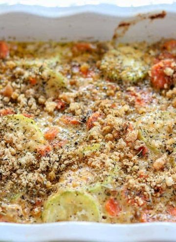 Baked Zucchini Casserole (Keto and Low Carb)