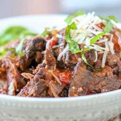 Italian Crock Pot Beef Roast (Instant Pot Beef Recipe)