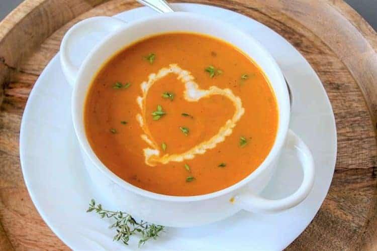 Easy Pumpkin Soup Recipe (Low Carb and Keto Pumpkin Soup)