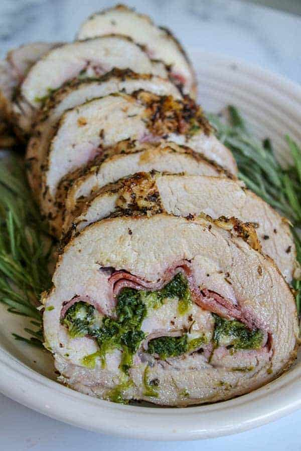 Cordon Bleu Stuffed Pork Loin, Seeking Good Eats