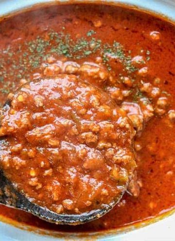 Instant Pot Spaghetti Sauce (Keto Spaghetti Sauce)