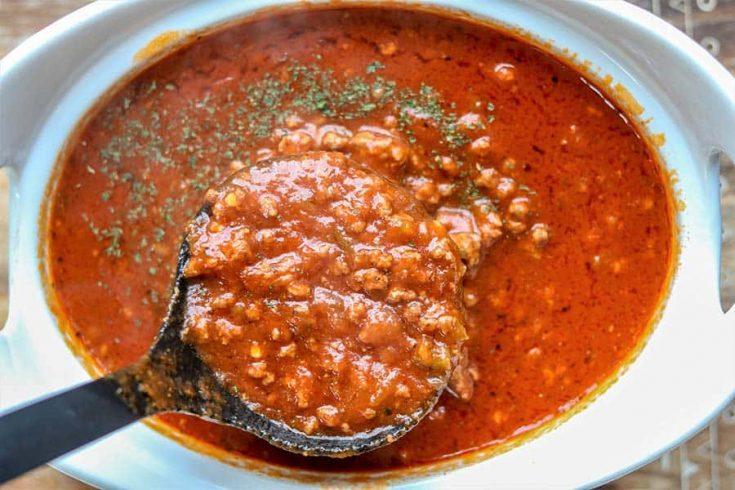 Instant Pot Spaghetti Sauce, Seeking Good Eats