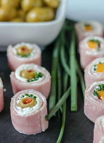 Ham and Cheese Roll Ups (Low Carb and Keto Appetizer)