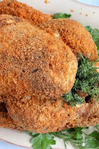 Juicy Turkey Recipe (Homemade Shake and Bake Seasoning Turkey - Keto)