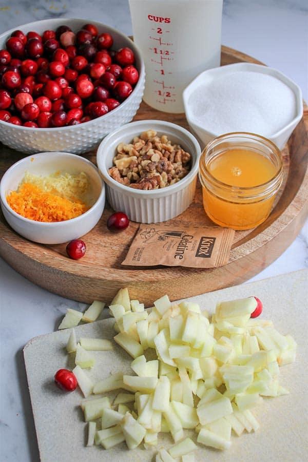 Fresh Cranberry Sauce Recipe (Sugar Free Cranberry Sauce)
