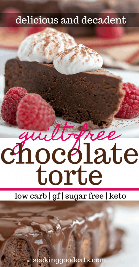 Chocolate Torte Recipe (Keto Chocolate Cake)
