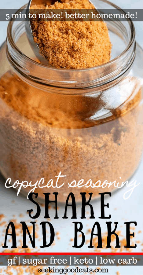 Homemade Shake and Bake (Copycat Shake and Bake - Keto)