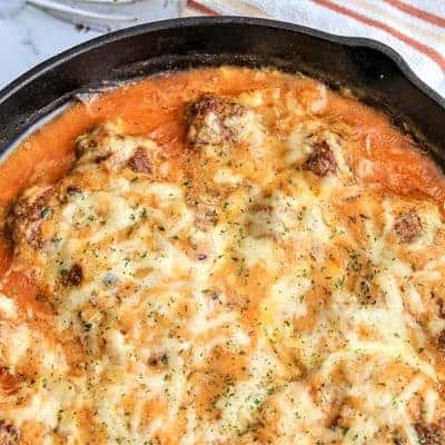 Reuben Bake With Meatballs (Keto Reuben Casserole)