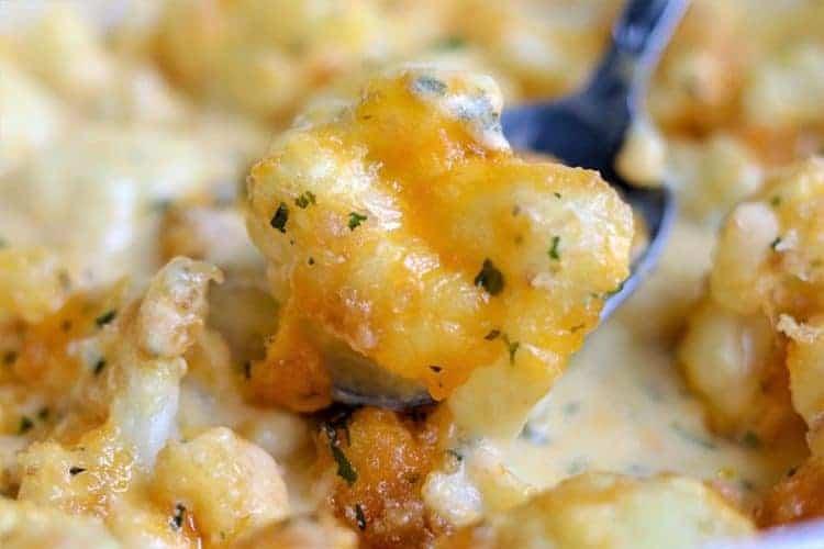 Easy Cauliflower Cheese (Keto Cauliflower Cheese)