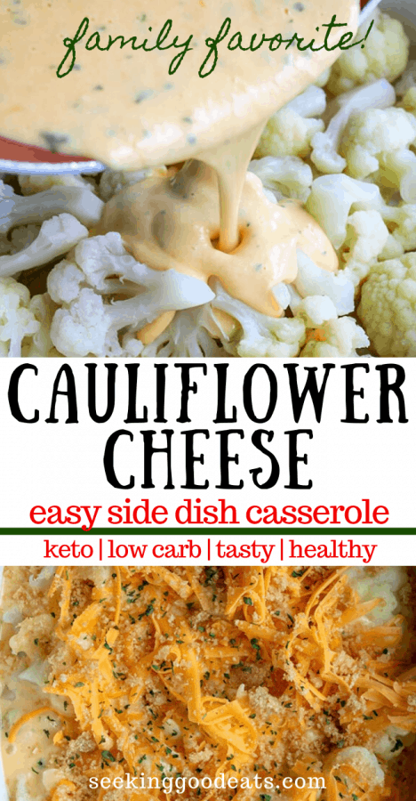 Easy Cauliflower Cheese (Keto Cauliflower Cheese)