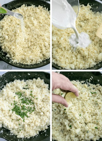 Coconut Cauliflower Rice (Keto Cauliflower Rice)