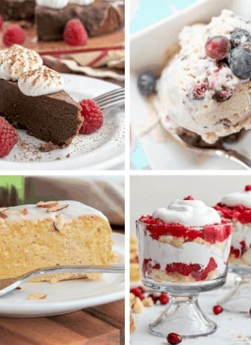 40+ Keto Desserts for All Occasions (Low Carb and Sugar Free)