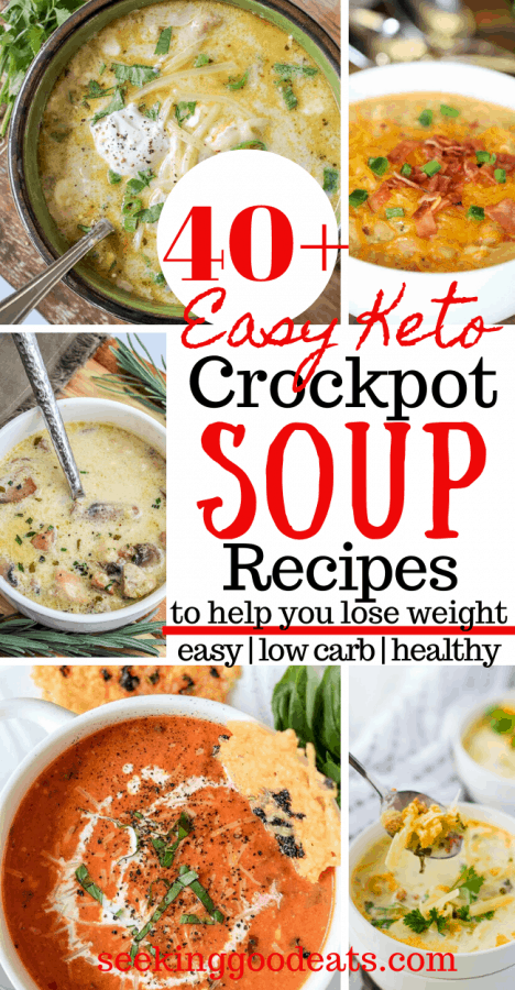 30+ Crockpot Soup Recipes (Low Carb and Keto)