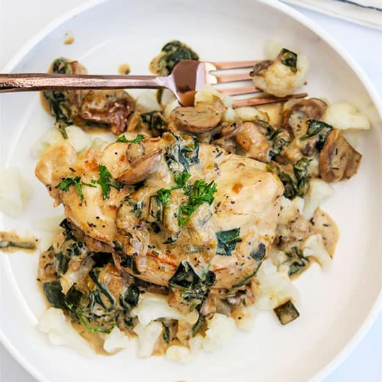 French Country Skillet Chicken Dinner