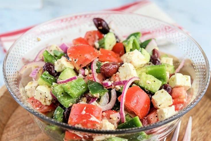 best greek salad recipe, Seeking Good Eats