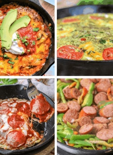 40+ Cast Iron Skillet Recipes (Low Carb and Keto)