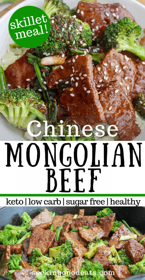 Mongolian Beef and Broccoli (Low Carb and Keto Chinese)