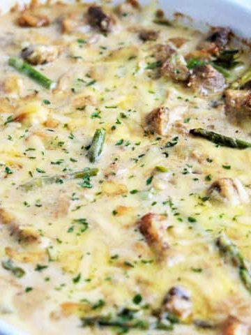 Creamy Chicken and Asparagus Bake